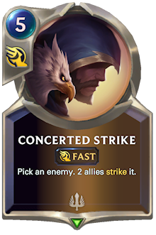 Concerted Strike
