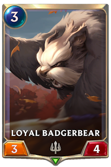 Loyal Badgerbear