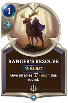 Ranger's Resolve