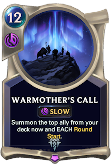 Warmother's Call