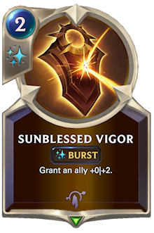 Sunblessed Vigor