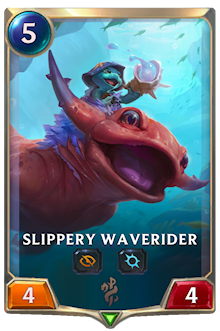 Slippery Waverider