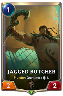 Jagged Butcher