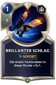 Brillanter Schlag