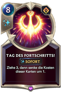 Tag des Fortschritts!