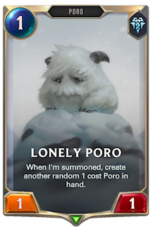 Lonely Poro