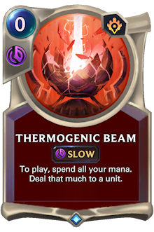 Thermogenic Beam