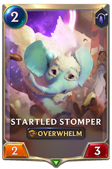 Startled Stomper