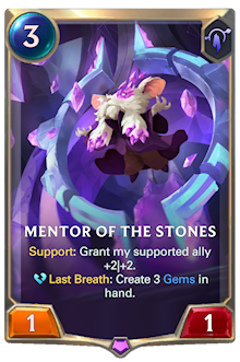 Mentor of the Stones