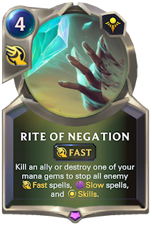 Rite of Negation