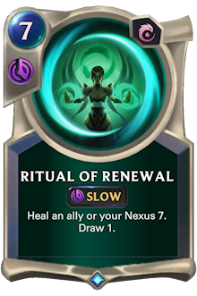 Ritual of Renewal