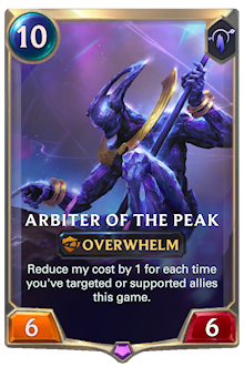 Arbiter of the Peak