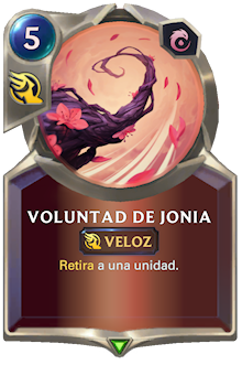 Voluntad de Jonia
