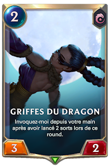 Griffes du dragon