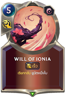 Will of Ionia
